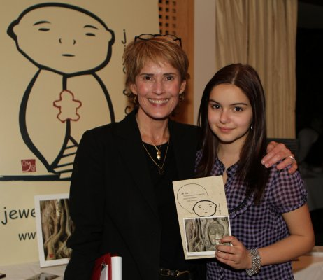 Ariel Winter of ABC's Modern Family with Valerie Johns at the Jizo and Chibi Pre-Emmy Gift Suite