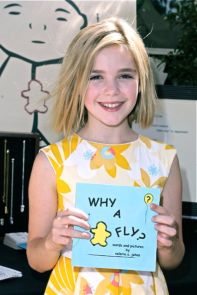 Kiernan Shipka at the Jizo & Chibi gift suite