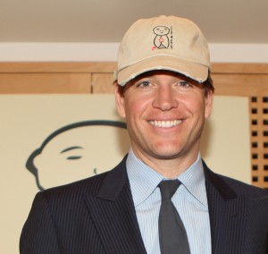 Michael Weatherly of CBS's NCIS at the Jizo and Chibi Pre-Emmy Gift Suite