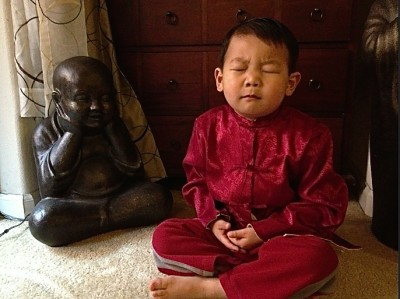 How to let go of fear, a Jizo visualization